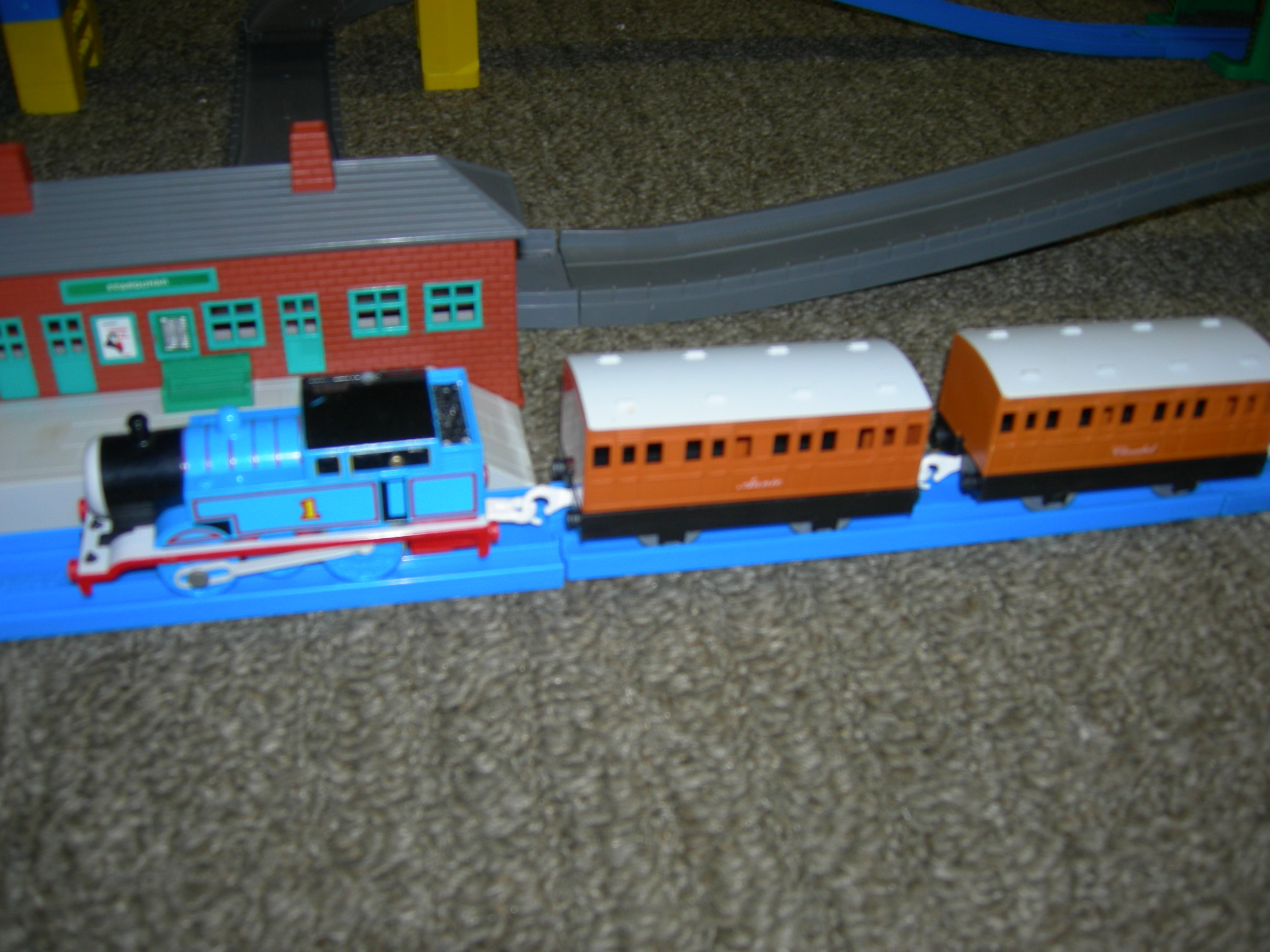 Blue Track Tomy Thomas The Tank Engine Train Tsar Fun